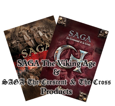 SAGA Dark Age and The Crescent & The Cross Products
