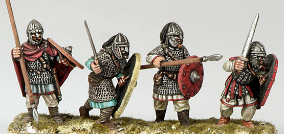 ABR02 Armoured Arthurian Infantry (4)