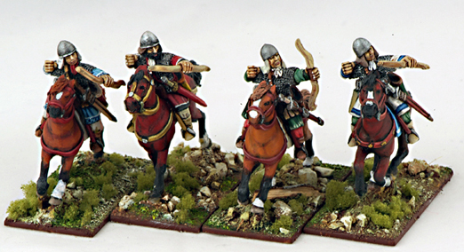 BZC11 Byzantine Light Cavalry Archers (4)