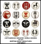 CART(GB)12 Carthaginian Infantry Shields (12)