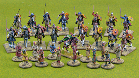 CCSB07 Spanish Starter Warband (4 points)
