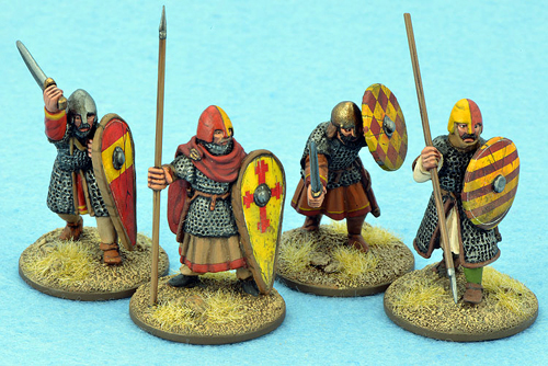 CRU02 Dismounted Knights One (4)