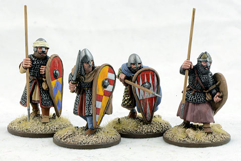 CRU04 Dismounted Knights Three (4)