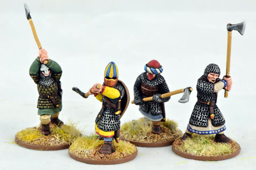 CRU06 Dismounted Knights with double handed weapons (4)