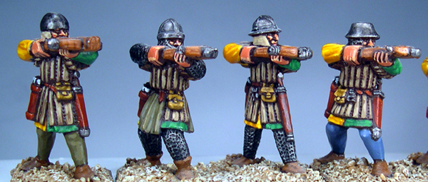 Men At Arms - Spearmen & Crossbows
