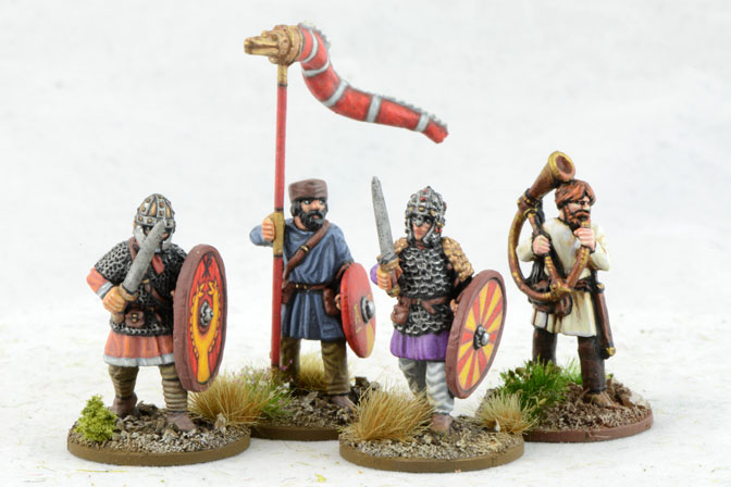 LR02 Late Roman Infantry Command (Warlord) (4)