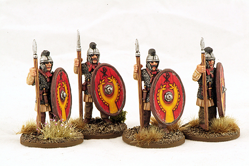 LR06 Late Roman Armoued Infantry (Crested Helmet) (Standing) (4)