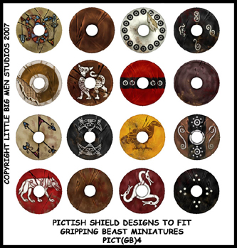 PICT(GB)4 Pict Shields (Small Dark Age Round) (16)