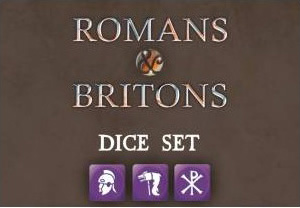 Saga Roman and Briton Dice -  Studio Tomahawk