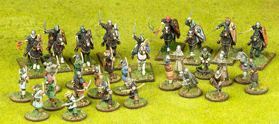 SAGA Starter 4 Point Warband - Norman