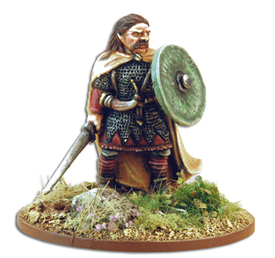 SHVA09 Hereward the Wake with Rules Card (1) Anglo-Danish Hero