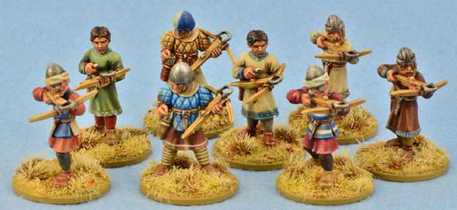 SMO05 Milites Christi Sergeants (Warriors) with crossbows