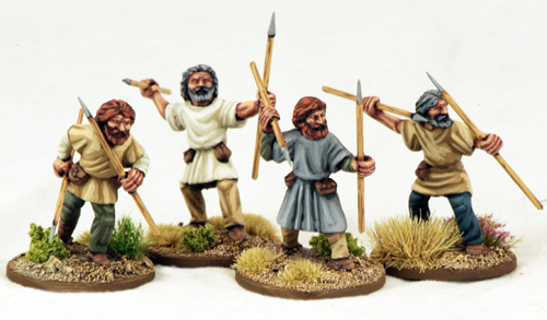 SWM15 Viking Skirmishers (Javelins) Two (4)