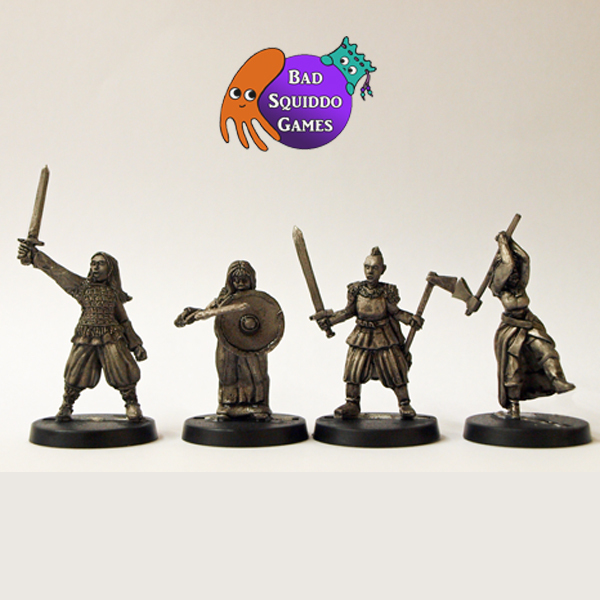 Shieldmaiden Berserkers (Dark Ages)