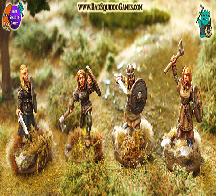 Shieldmaiden Warriors (Dark Ages)