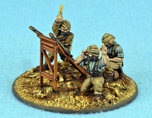 TURK06 Trench catapult and 3 Crew