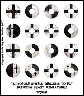 TP(GB)1 Teutonic Turkopolen Shields