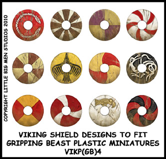 VIKP(GB)4 Designs for Plastic Vikings Four (12)