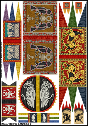 Viking Banners Two