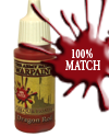 WP1105 Dragon Red Paint
