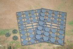 25mm Diameter Paved Effect Bases (52)