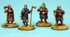 AND05 Anglo Danish Huscarls Standing (Axes)