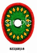 BZI(GB)18 Byzantine Infantry Shield (Infantry Oval) (12)