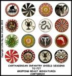 CART(GB)10 Carthaginian Infantry Shields (12)