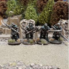 SUD03 Undead Legions Hearthguard /w Great Weapons (4)