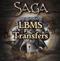 SAGA Age of Crusades LBMS Banners & Shield Transfers