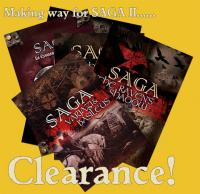 Old SAGA Book Bargains! Be quick!