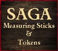 SAGA Measuring Sticks, Tokens and Objective Markers