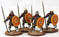 BYZ10 Byzantine Infantry Standing (Quilted) (4)