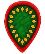BZI(GB)4 Byzantine Infantry Shield (Infantry Teardrop) (12)