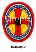 BZI(GB)19 Byzantine Infantry Shield (Infantry Oval) (12)