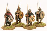 CF02 Carolingian Hearthguards Two (4)