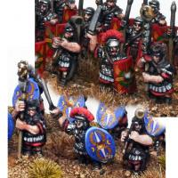 Early Imperial Roman Centurian Command (10mm)