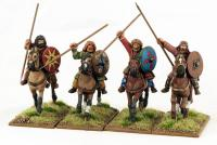 GETC01 Mounted Germanic Warriors, bareheaded (4)