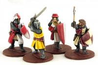 LCF05 Crusading Foot Knights Two (Command) (4)