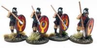 LR05 Late Roman Armoured Infanty (Crested Helmet - Advancing) (4)