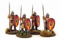 LR12 Late Roman Unarmoured Infantry (Helmets - Standing) (4)