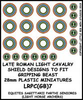 LRPC(GB)7 Late Roman Light Cavalry Shield Transfers