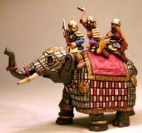 MSEL01a Timurid Elephant One (Officer Crew)