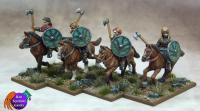 Mounted Shieldmaiden Warriors