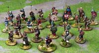SAGA Starter 4 Point Warband - Norse Gaels