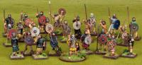 SAGA Starter 4 Point Warband - Scots