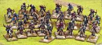 SAGA Starter 4 Point Warband - The Huns / Steppe Tribes