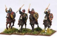 SF02 Carolingian Mounted Hearthguards (4)