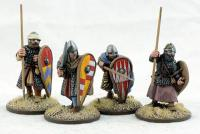 SPA04 Dismounted Spanish Knights Three (4)