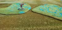 Total Scenery Battle Rug Marsh Duo (2 x 15cm)